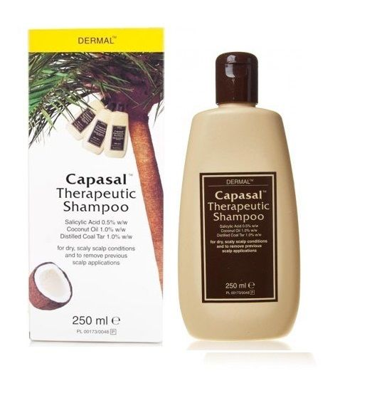 Buy Capasal Therapeutic Shampoo Online UK Next Day Delivery Ingredients Dermal Laboratories Ltd