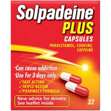Buy Solpadeine Plus Capsules Online UK Next Day Delivery