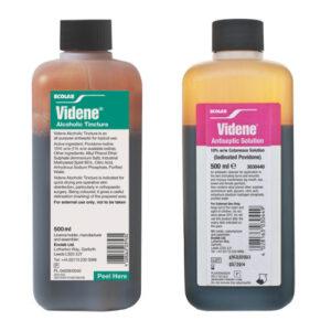 Buy Videne Antiseptic Solution 500ml OnlineUK Next Day Delivery10