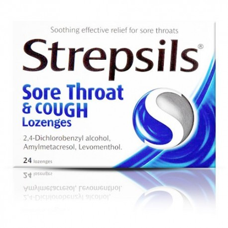 Buy Strepsils Sore Throat and Cough Online UK Next Day Delivery Tesco Lozenges