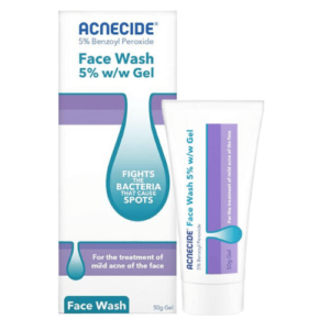 Buy Acnecide 5% Wash Gel Online UK Next Day Delivery 50g 5%