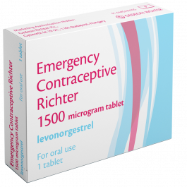 Buy Levonorgestrel Emergency Contraceptive Richter Tablet Online UK Next Day Delivery Levonorgestrel Morning After Pill