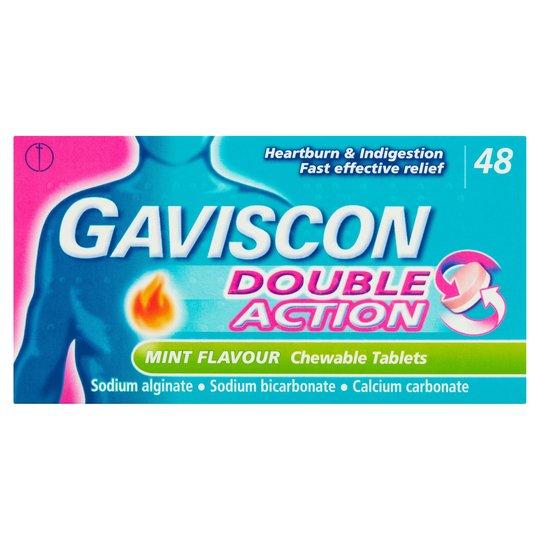 Gaviscon Double Action Mint