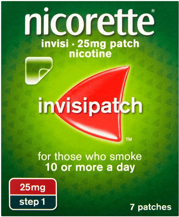 Nicorette 25mg Invisi-Patch Step 1