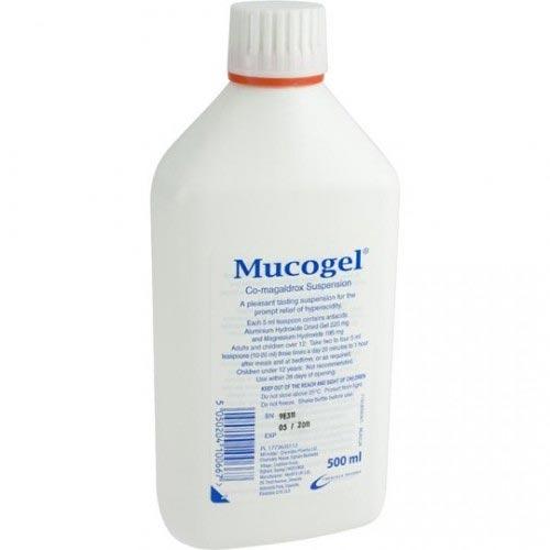 Mucogel Suspension Liquid 500ml