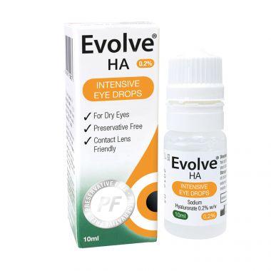 Evolve HA Intensive Eye Drops 10ml