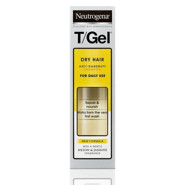 neutrogena t/gel dry hair anti-dandruff shampoo