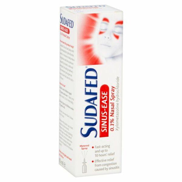 Sudafed Sinus Ease 0.1% Nasal Spray