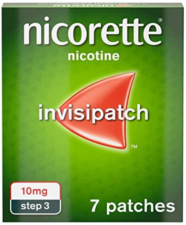 Nicorette 10mg Invisi-Patch Step 3