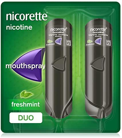 Nicorette Quickmist 1mg Mouth Spray