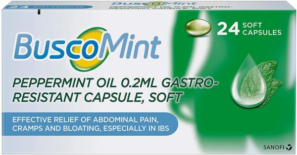 BuscoMint Peppermint Oil Gastro-Resistant