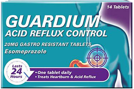 Guardium 20mg Gastro-Resistant Tablets
