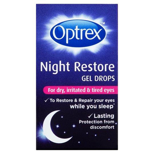 Optrex Night Restore Gel Drops 10ml