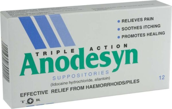 Anodesyn Suppositories