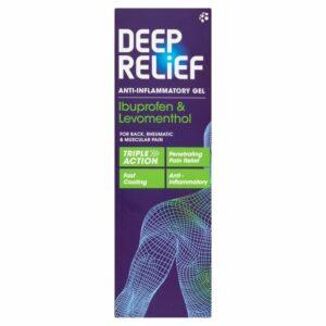 Buy Deep Relief Anti-Inflammatory Gel Online UK Next Day Delivery