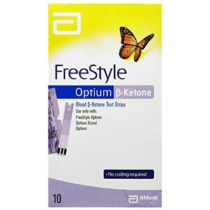 Freestyle Optium Ketone Strips