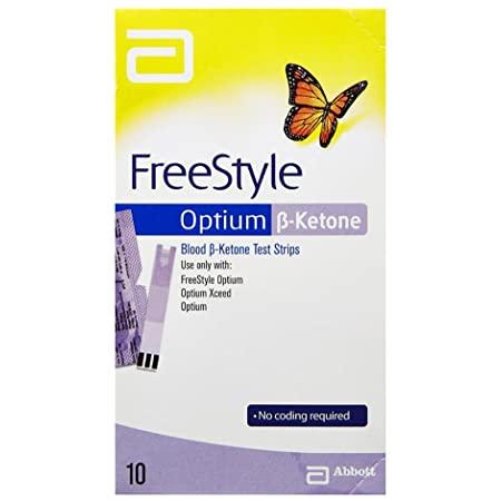 Freestyle Optium Ketone Strips