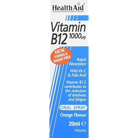 HealthAid Vitamin B12 Spray 20ml