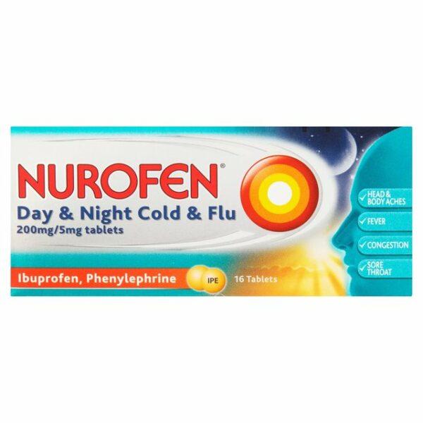 Nurofen Day & Night Cold & Flu