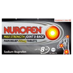 Nurofen Pain Relief Max Strength 512mg