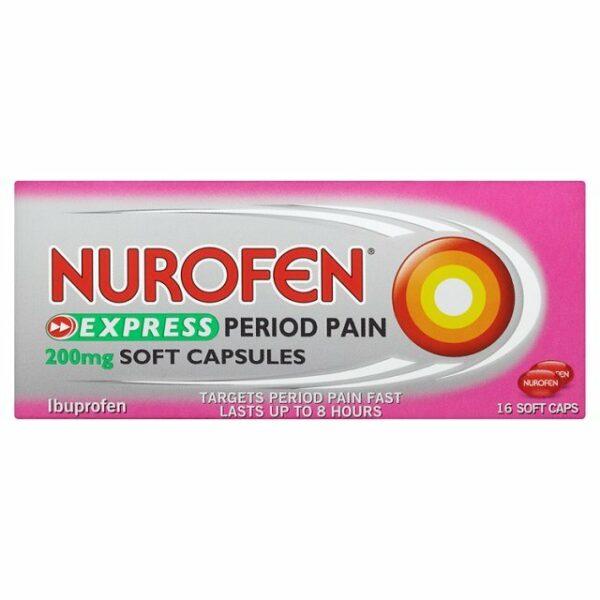 Nurofen Period Pain Capsules