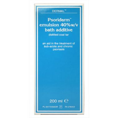 Psoriderm Emulsion Bath Additive 200ml