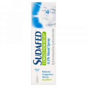 Sudafed Congestion Relief Nasal Spray