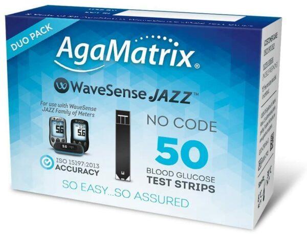 WaveSense Duo Glucose Strips