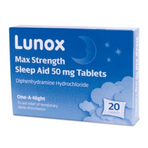 Lunox Sleep Aid Tablets