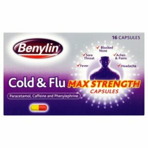 Benylin Cold & Flu MAx Strength Capsules