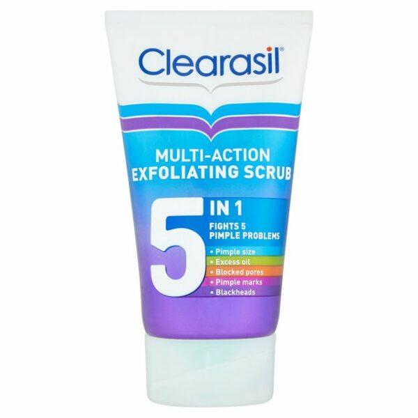 Clearasil 5 in 1 Exfoliating Scrub 150ml