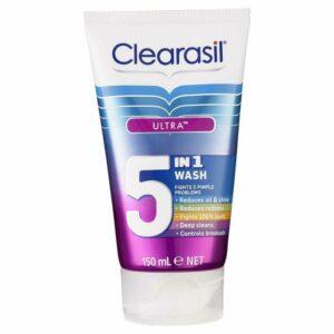 Clearasil 5 in 1 Face Wash