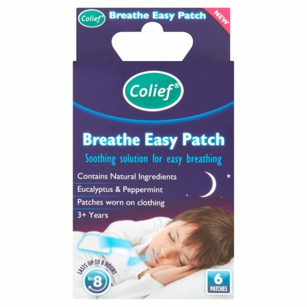 Colief Easy Breathe Patches