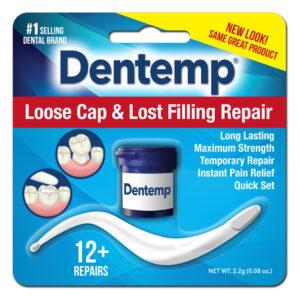 Dentemp Loose Cap Lost Filling Repair