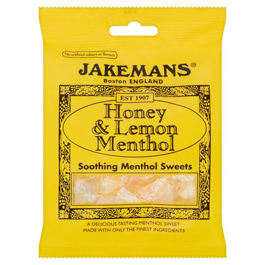 Jakemans Honey & Lemon Menthol Sweets
