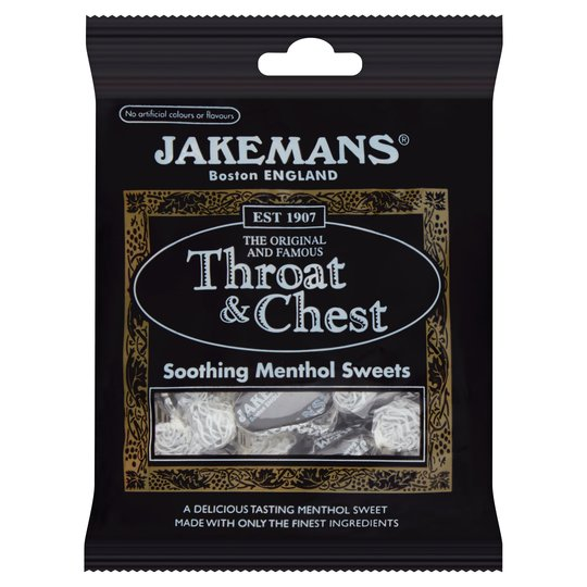 Jakemans Throat & Chest Menthol Sweets