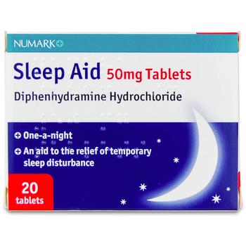 Numark Sleep Aid Tablets 50mg