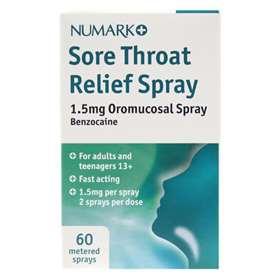 Numark Sore Throat Relief Spray