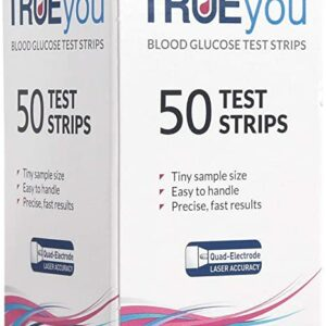 TrueYou Blood Glucose Test Strips