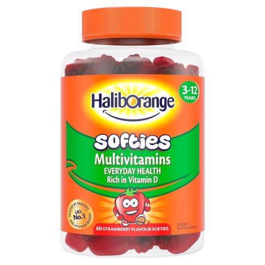 Haliborange Softies Multivitamin Strawberry