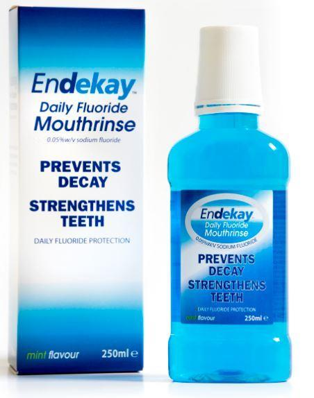 Endekay Daily Fluoride Mouthrinse Bottle