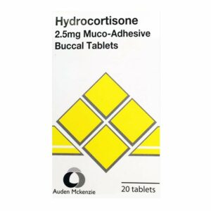 Hydrocortisone 2.5mg Muco-Adhesive Buccal Tablets